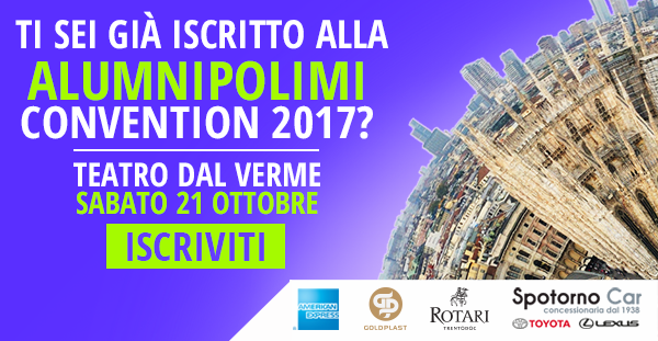 AlumniPolimi Convention 2017